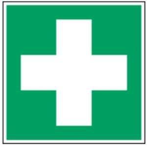Rettungszeichen - Erste Hilfe - lang nachleuchtend - ISO 7010-0
