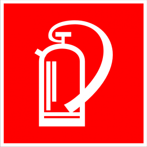 Brandschutzzeichen - Feuerlöscher - lang nachleuchtend - BGV A8-0
