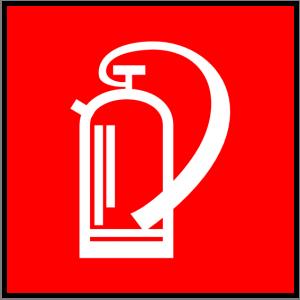 Brandschutzzeichen - Feuerlöscher - nicht nachleuchtend - BGV A8-0