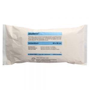 Aluderm-aluplast elastisch 8 Abschnitte à 10x6cm=80cm-0