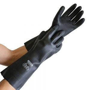 Latex-Chemikalienschutz-Handschuh CHEMO-0