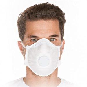 Atemschutzmaske FFP1 NR mit Ventil - 20 Stk.-0
