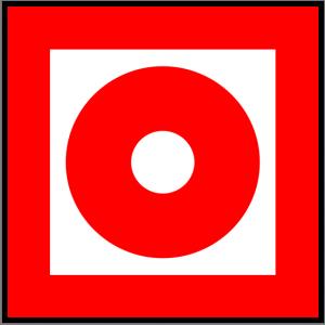 Brandschutzzeichen - Brandmelder - lang nachleuchtend - BGV A8-0