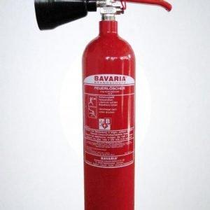 Feuerlöscher - Dauerdrucklöscher - CO2 - 2kg-0